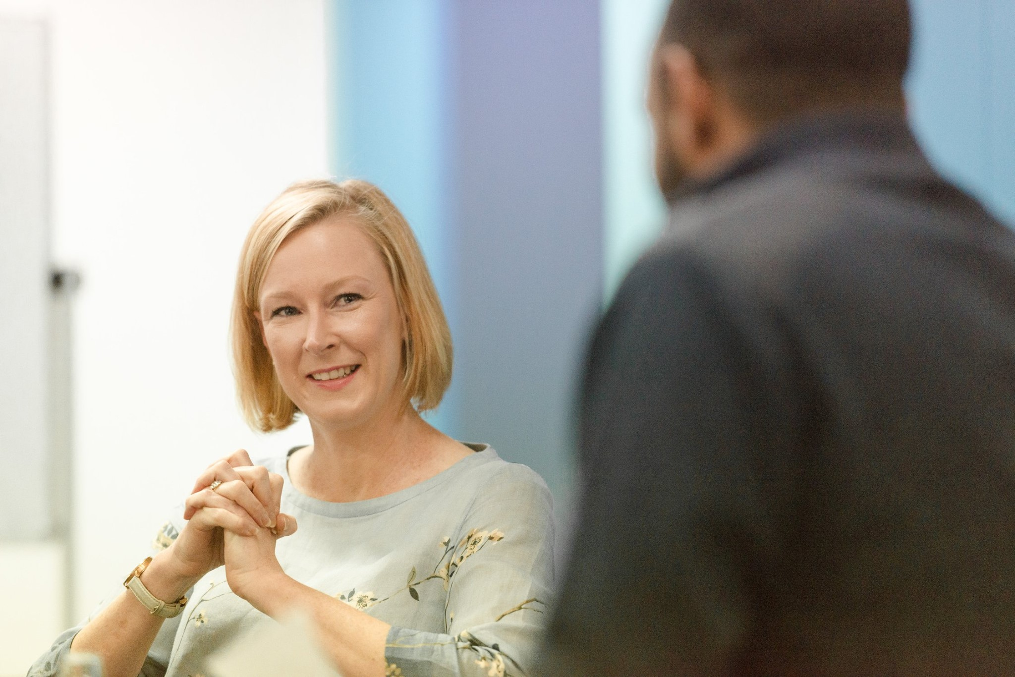 Leigh sales at Macleay College
