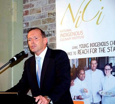macleay college advertising NICI project tony abbot